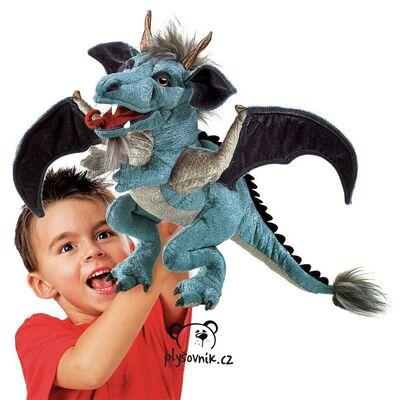 Plyšová hračka: Velký nebeský drak plyšový | Folkmanis