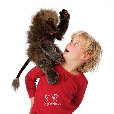 Plyšová hračka: Velký pavián Baboon plyšová | Folkmanis