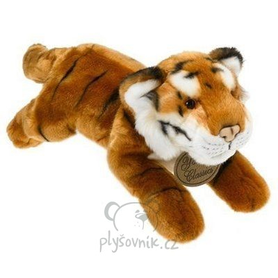 Plyšová hračka: Velký tygr bengálský plyšový | Russ Berrie