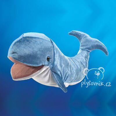 Plyšová hračka: Velryba plejtvák plyšová | Folkmanis