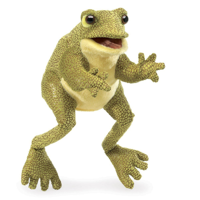 Plyšová hračka: Veselá žába plyšový | Folkmanis