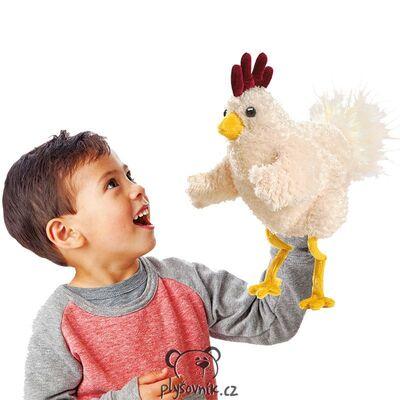 Plyšová hračka: Veselé kuře plyšák | Folkmanis