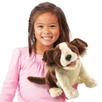 Plyšová hračka: Veselý pes plyšový | Folkmanis