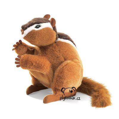 Plyšová hračka: Veverka Chipmunk plyšová | Folkmanis