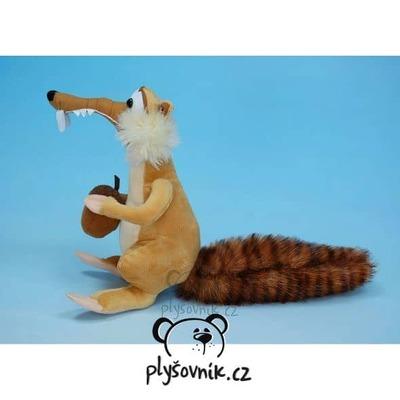 Plyšová hračka: Veverka Scrat z Ice Age plyšová | Moravská ústředna Brno
