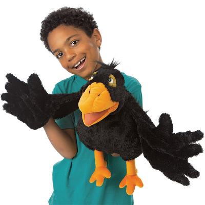 Plyšová hračka: Vrána plyšová | Folkmanis