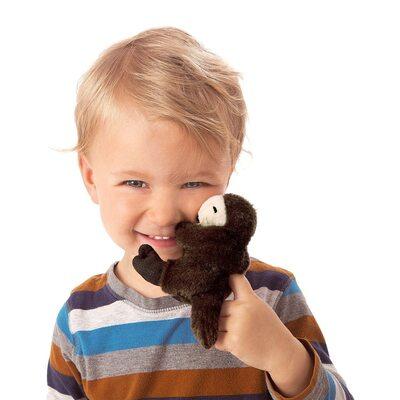Plyšová hračka: Vydra mořská na prst plyšák | Folkmanis