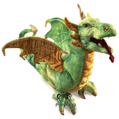 Plyšová hračka: Wyverna drak plyšový | Folkmanis