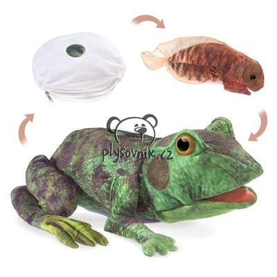 Plyšová hračka: Žabí cyklus plyšový   Folkmanis