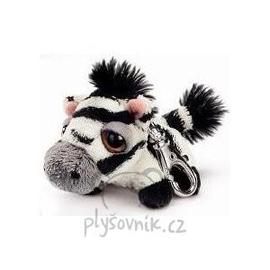 Plyšová hračka: Zebra Stripes klíčenka plyšová | Russ Berrie