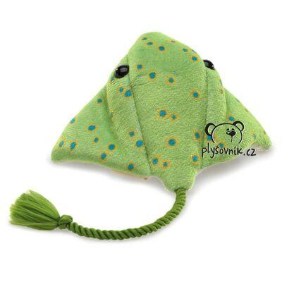 Plyšová hračka: Zelený rejnok plyšový | Folkmanis
