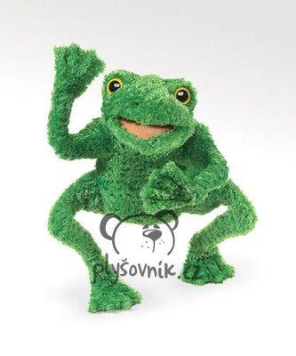 Plyšová hračka: Zelený žabák plyšový | Folkmanis