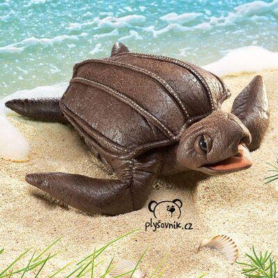 Plyšová hračka: Želva kožatka velká plyšák | Folkmanis