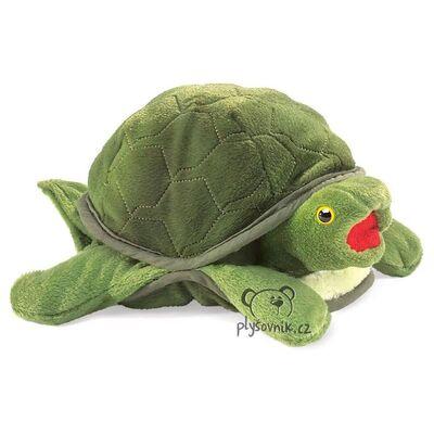 Plyšová hračka: Želva menší plyšová | Folkmanis