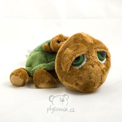 Plyšová hračka: Želva Shelby s miminkem plyšová | Russ Berrie