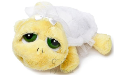 Plyšová hračka: Želva Shelly nevěsta menší plyšová | Russ Berrie