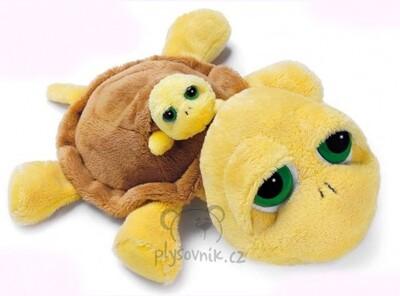 Plyšová hračka: Želva Shelly s miminkem plyšová | Russ Berrie