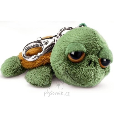 Plyšová hračka: Želvička Shecky klíčenka plyšová | Russ Berrie