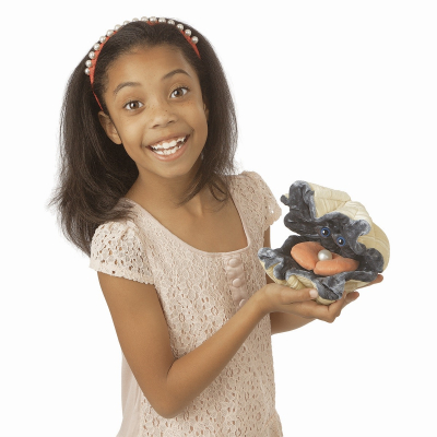 Plyšová hračka: Zéva obrovská škeble plyšová | Folkmanis