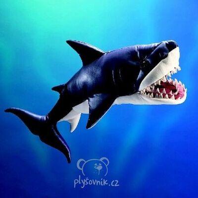 Plyšová hračka: Žralok bílý plyšový | Folkmanis