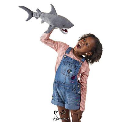 Plyšová hračka: Žralok lidožravý plyšový | Folkmanis