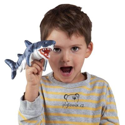 Plyšová hračka: Žralok na prst plyšák | Folkmanis