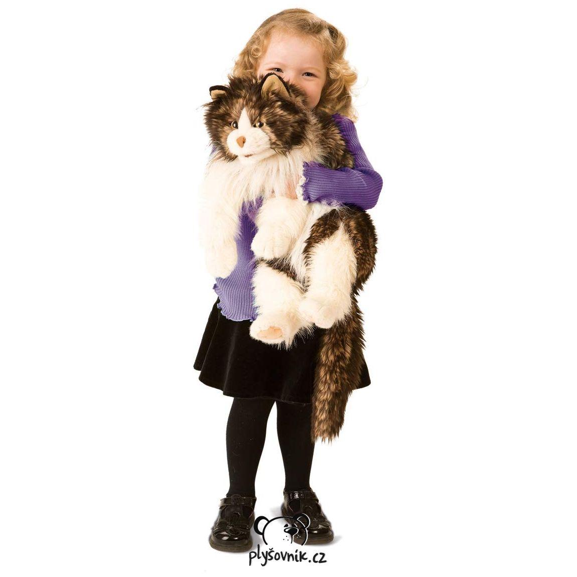Kočka Ragdoll plyšová 71cm Folkmanis