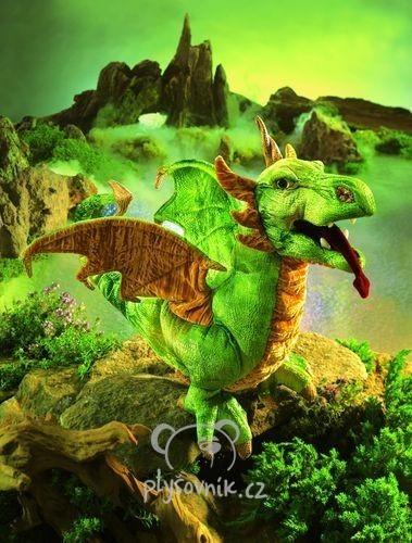 Wyverna drak plyšový 46cm Folkmanis