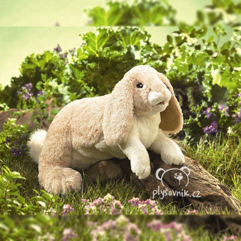 Velký králík beránek plyšový 43cm Folkmanis | skladem