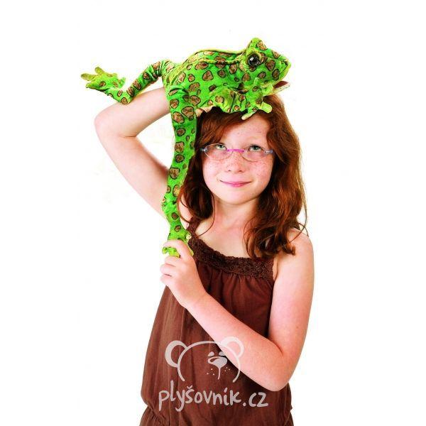 Žába skokan plyšák 38 × 10 × 20cm Folkmanis | skladem