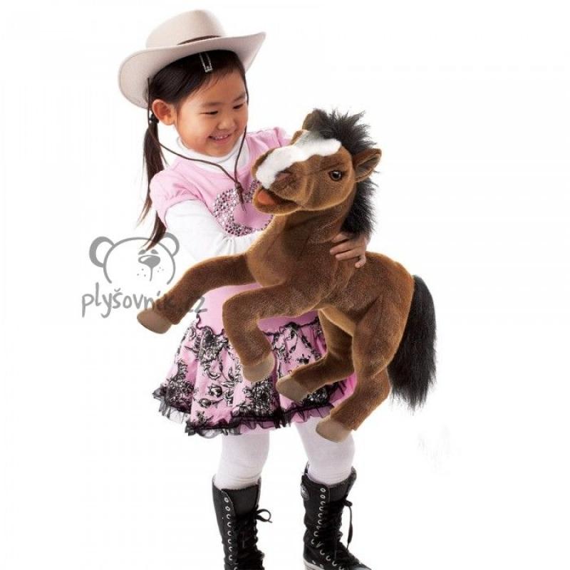 Velký kůň plyšový 50 × 42 × 17cm Folkmanis