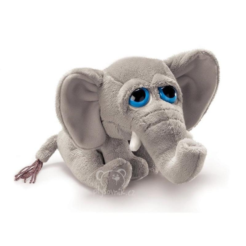 Menší slon Stomper plyšový 12cm Suki Gifts | skladem