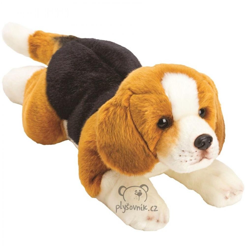 Beagle Yomiko plyšový 35cm Suki Gifts   skladem