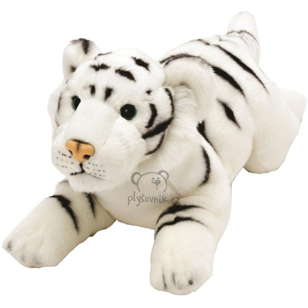 Bílý tygr plyšový 35cm Suki Gifts | skladem