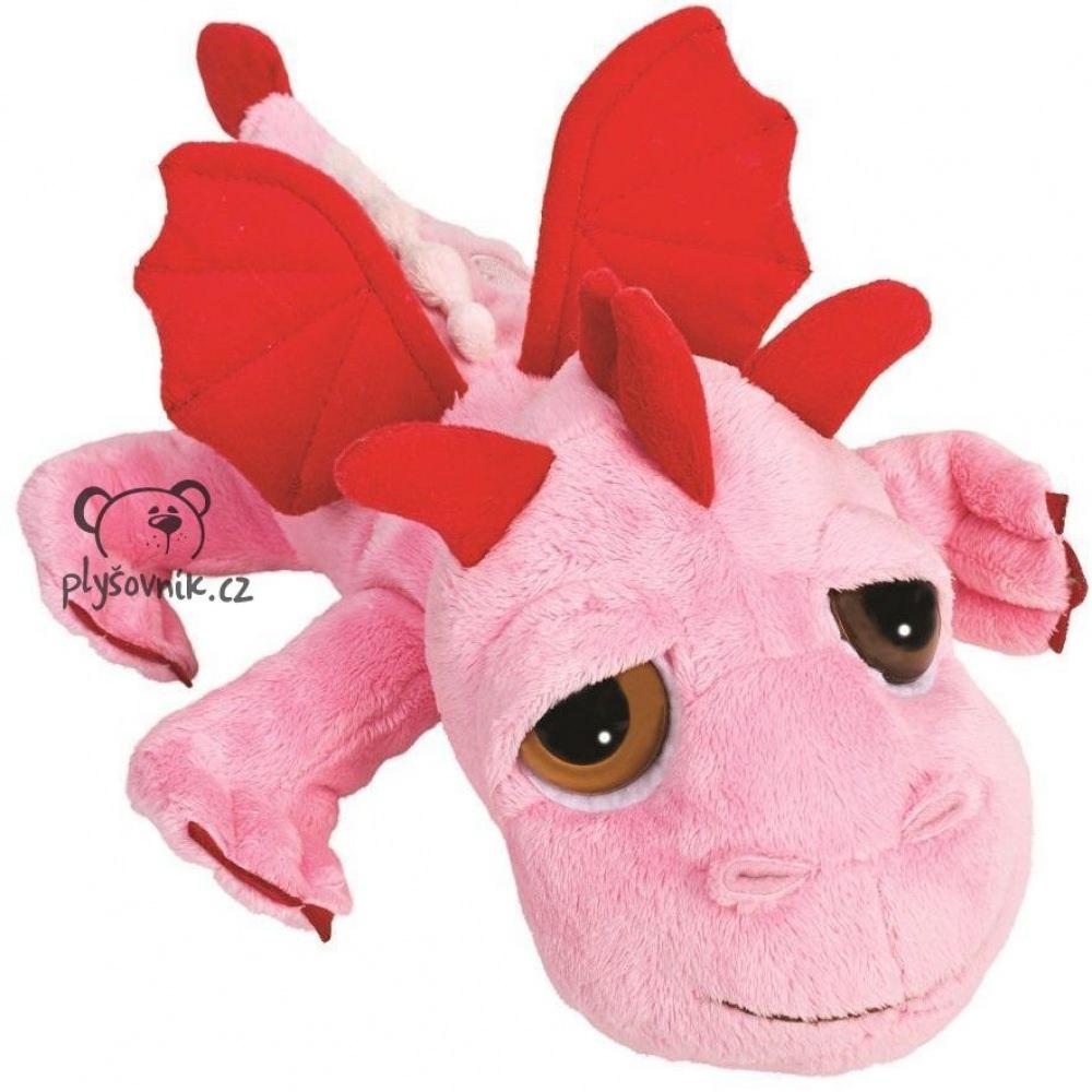 Růžový drak Smoulder plyšový 33cm Suki Gifts | skladem