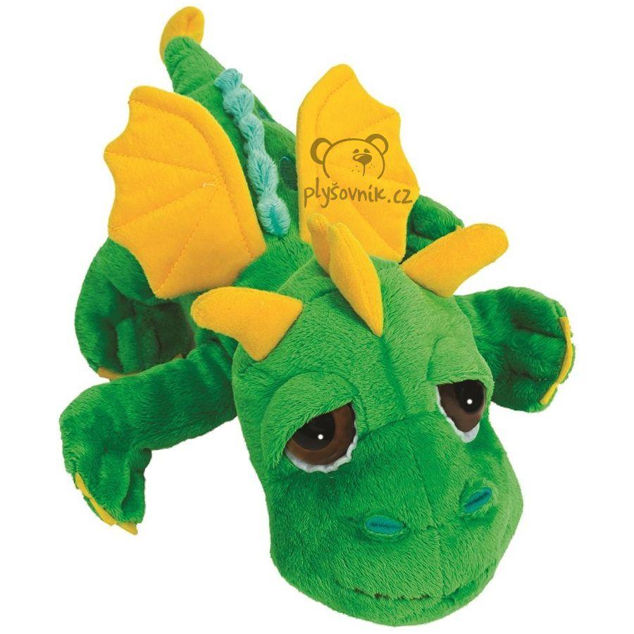 Zelený drak Inferno plyšový 33cm Suki Gifts