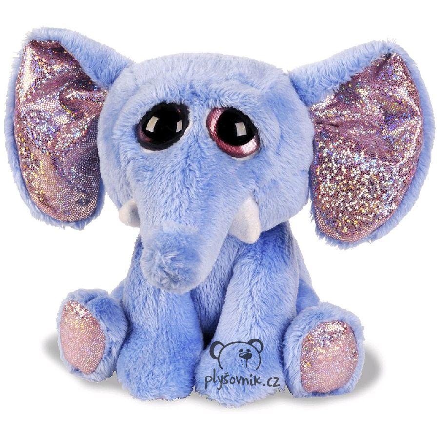 Modrý slon Elsa plyšový 19cm Russ Berrie | skladem