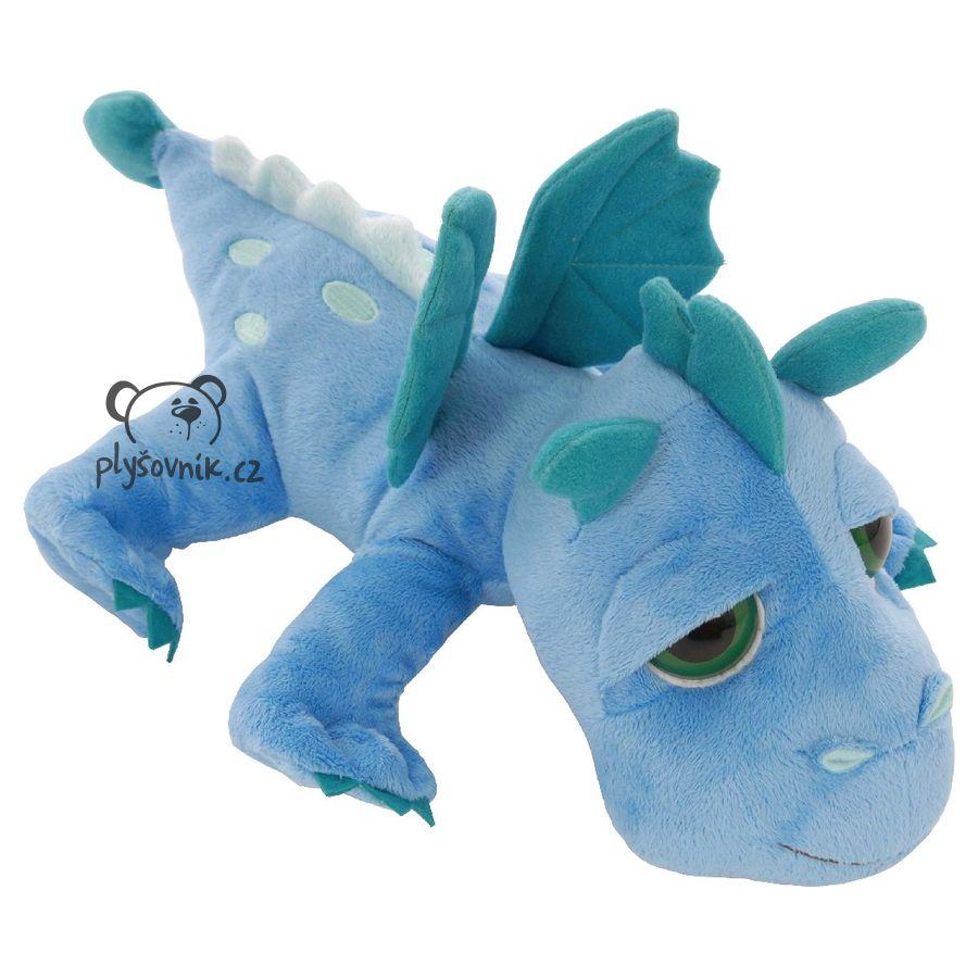 Modrý drak Firestorm plyšový 33cm Suki Gifts | skladem