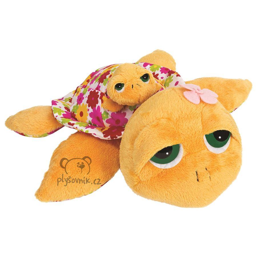 Želva Sunshine s miminkem plyšová 29 × 8cm Suki Gifts | skladem