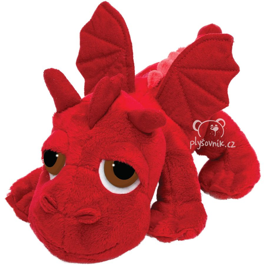 Rudý drak Ember plyšový 33cm Suki Gifts | skladem