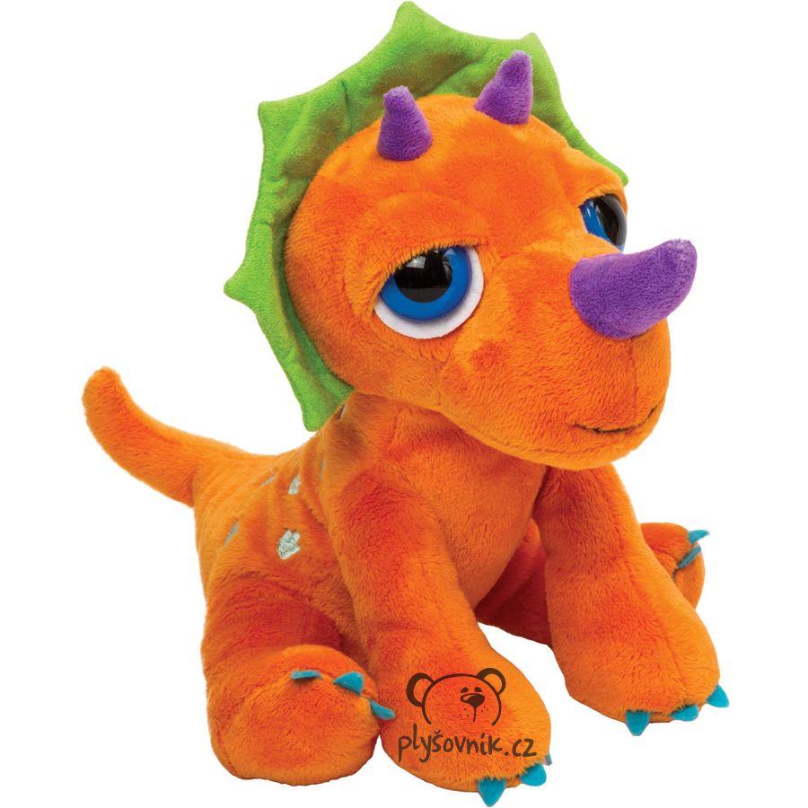 Dinosaurus Triceratops plyšový de85915c30