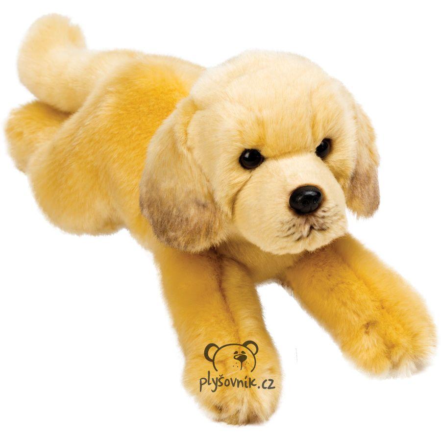 Ležící labrador Yomiko plyšový 30cm Suki Gifts   skladem