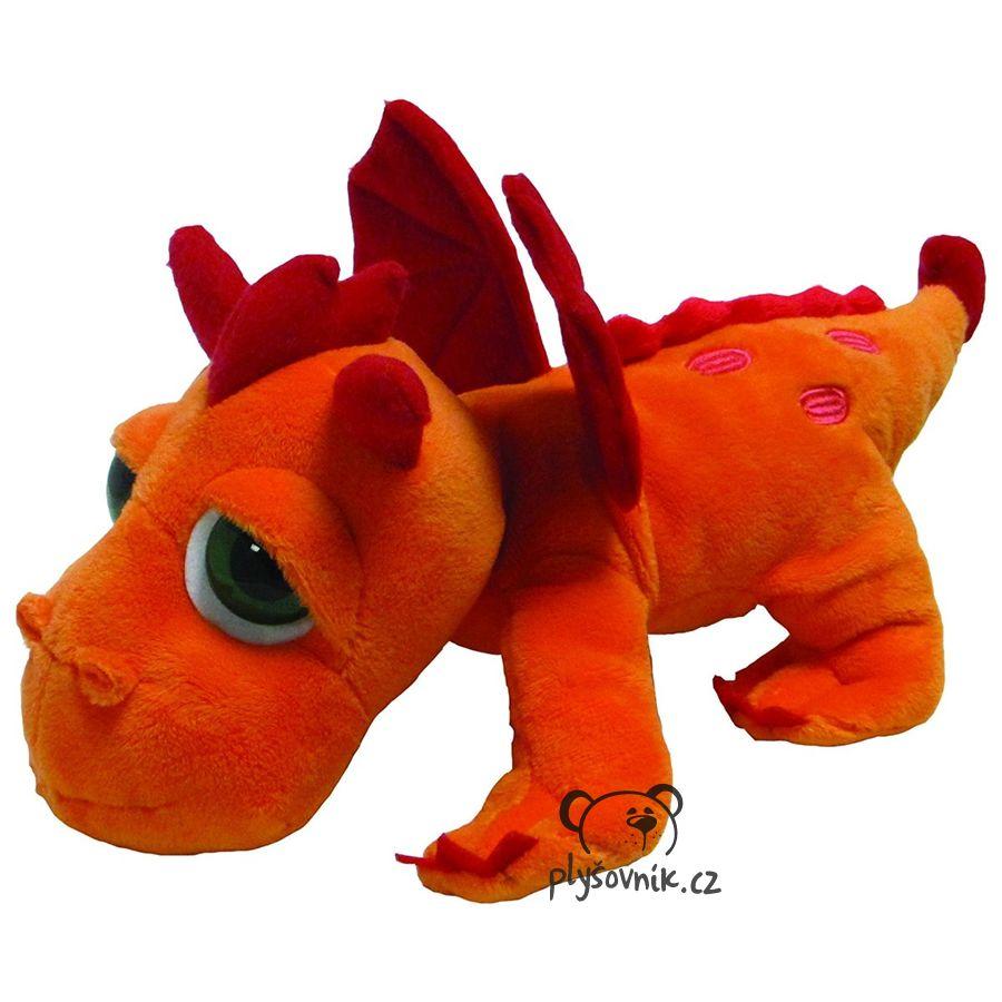 Oranžový drak Blaze plyšový 33cm Suki Gifts