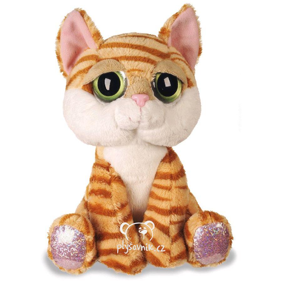 Oranžová kočka Amber plyšový 21cm Russ Berrie | skladem