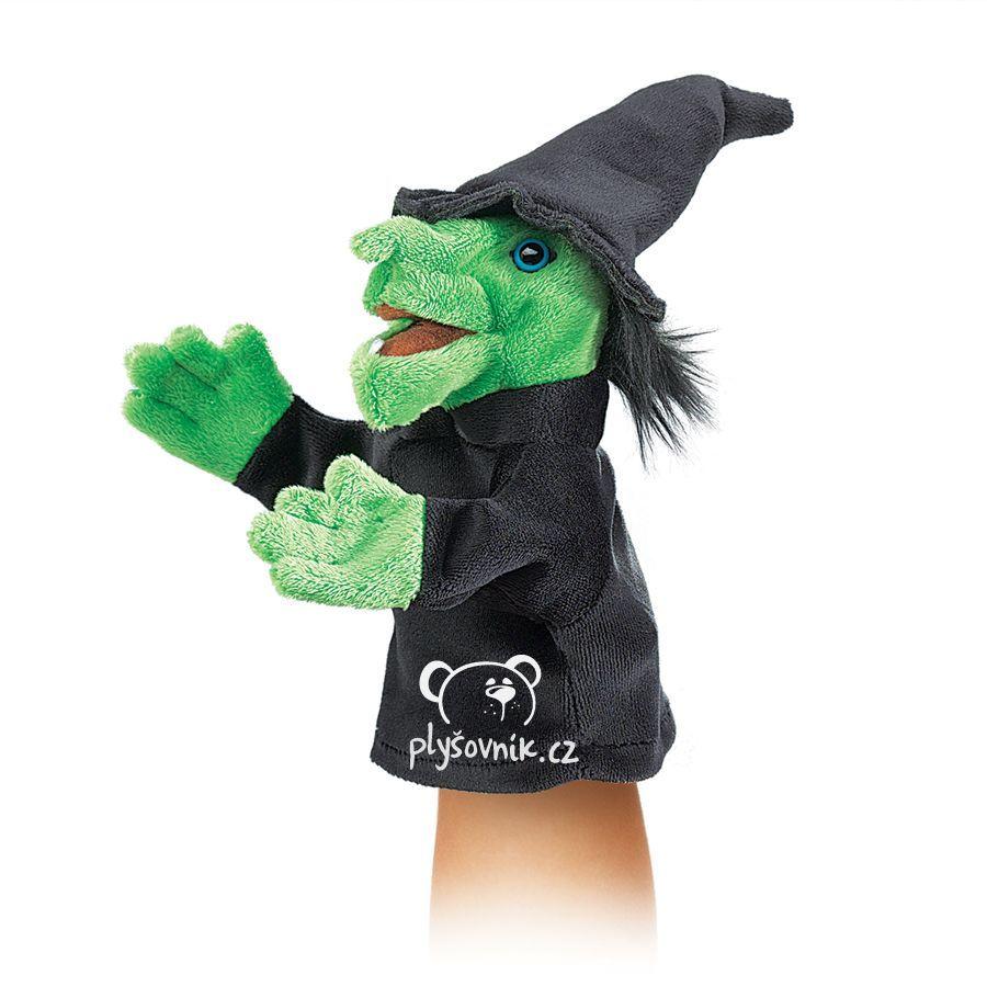 Malá čarodějnice plyšová Folkmanis
