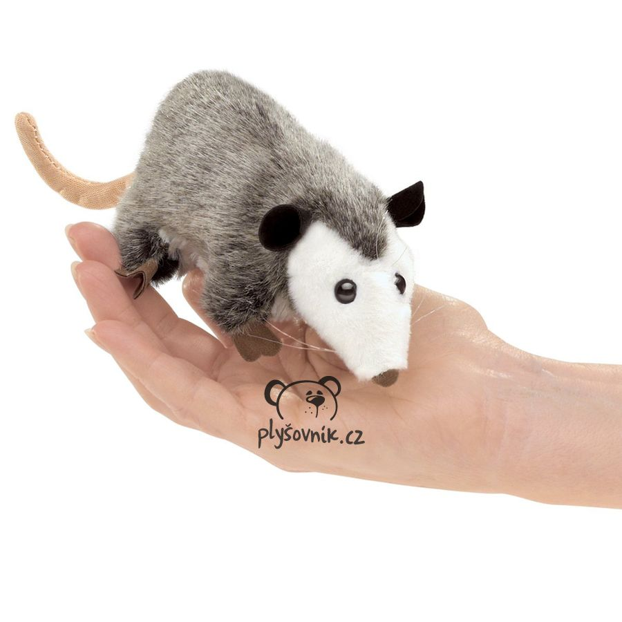 Vačice na prst plyšová 20 × 7 × 5cm Folkmanis   skladem