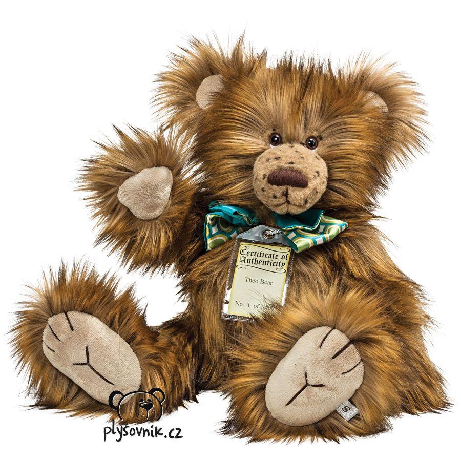 Medvídek Theo plyšový 57cm Suki Gifts