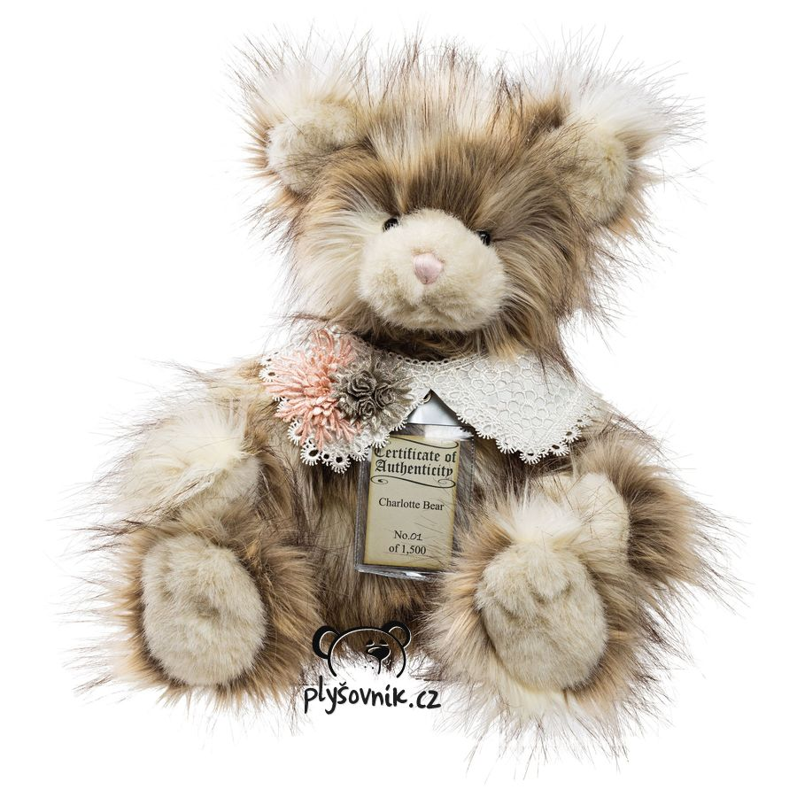 Medvídek Charlotte plyšový 47cm Suki Gifts