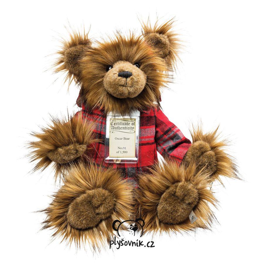 Medvídek Oscar plyšový 47cm Suki Gifts