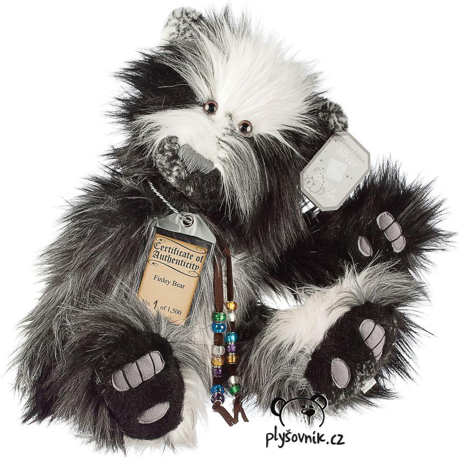 Medvídek Finley plyšový 45cm Suki Gifts